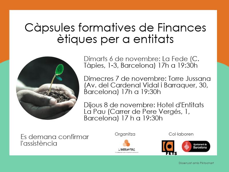 Targetó Càpsules Finances Ètiques
